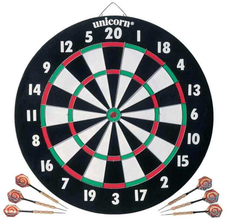 Мишень Unicorn Dartboard XL