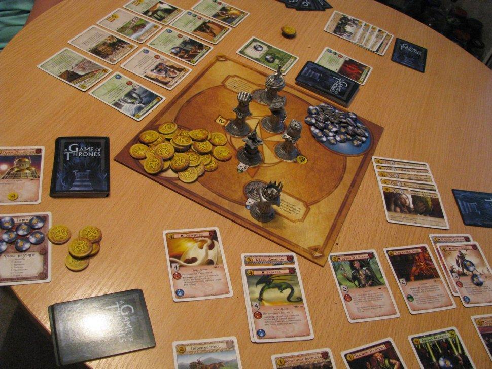 игра престолов живая карточная игра